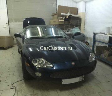 установка магнитолы в Jaguar