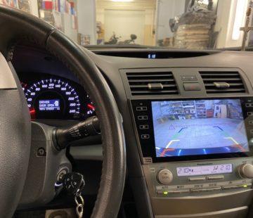 Установка штатной магнитолы в Toyota Camry