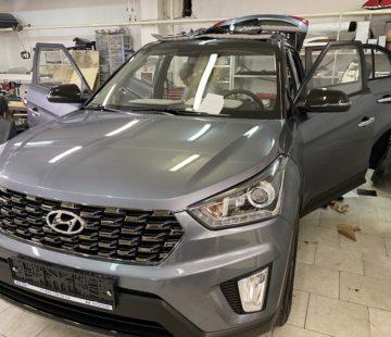 Шумоизоляция Hyundai Creta