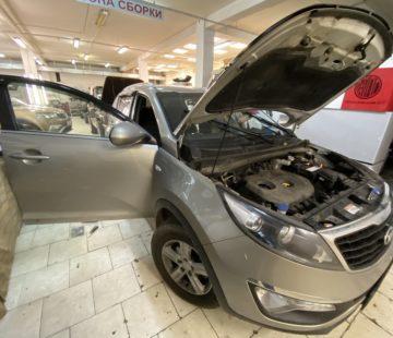 Установка акустики и усилителя в Kia Sportage
