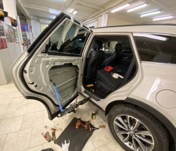 Шумоизоляция Hyundai Santa Fe