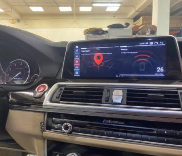 Установка Android монитора в BMW