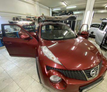 Шумоизоляция автомобиля Nissan Juke