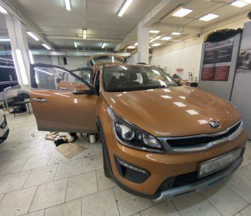 Шумоизоляция автомобиля Kia Rio