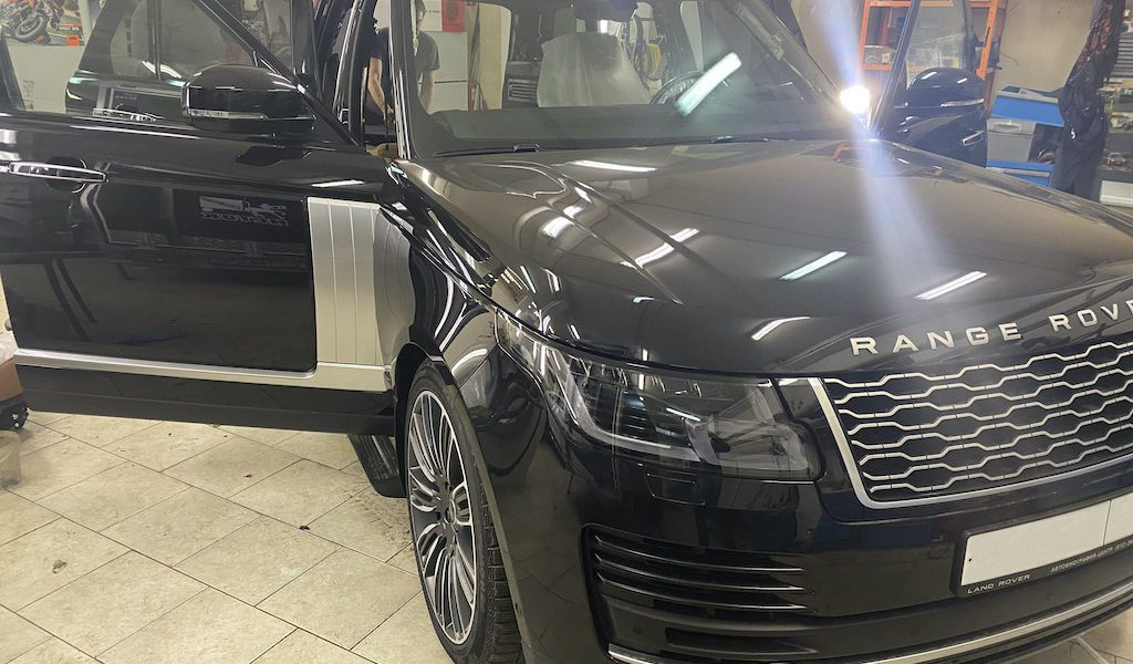 Шумоизоляция дверей Range Rover Sport