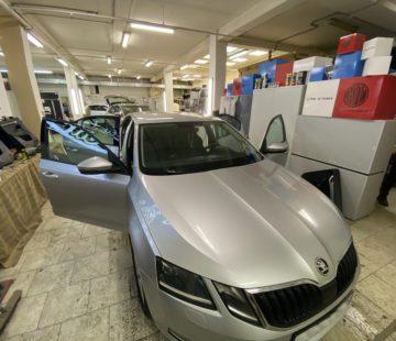 Шумоизоляция дверей Skoda Octavia A7
