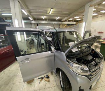 Шумоизоляция автомобиля Nissan Roox