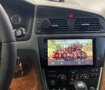 Установка автомагнитолы в Volvo XC70