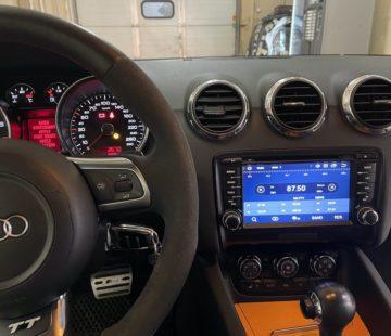 Автомагнитола в Audi TT