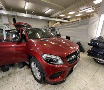Акустическая шумоизоляция Mercedes GLE